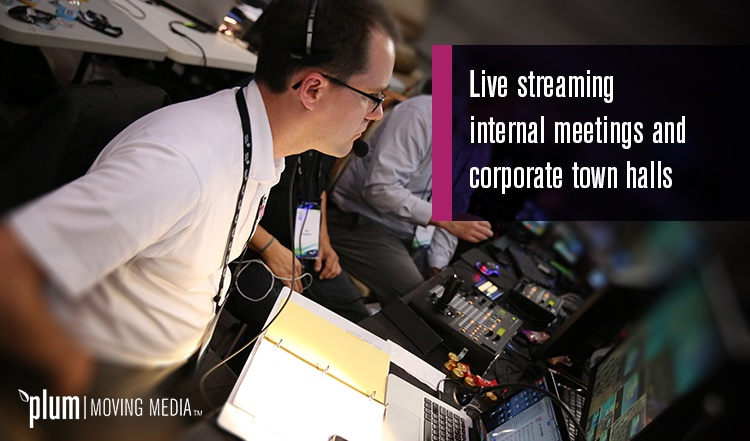 Chad live streaming corporate meeting & townhall