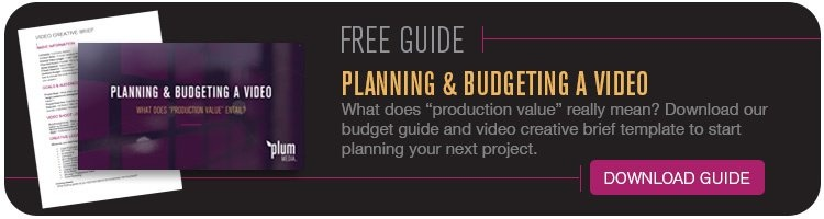Video Production Planning and Budget Guide
