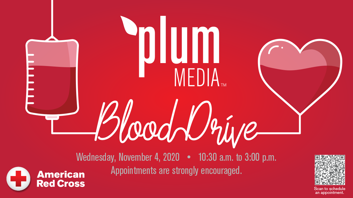 Plum Media Blood Drive
