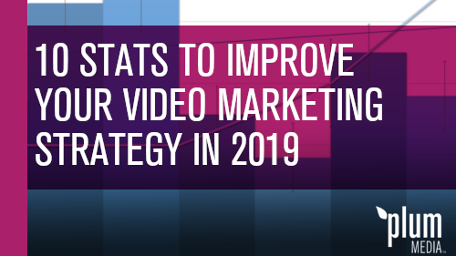 10 Statistics to help improve your video marketing strategy